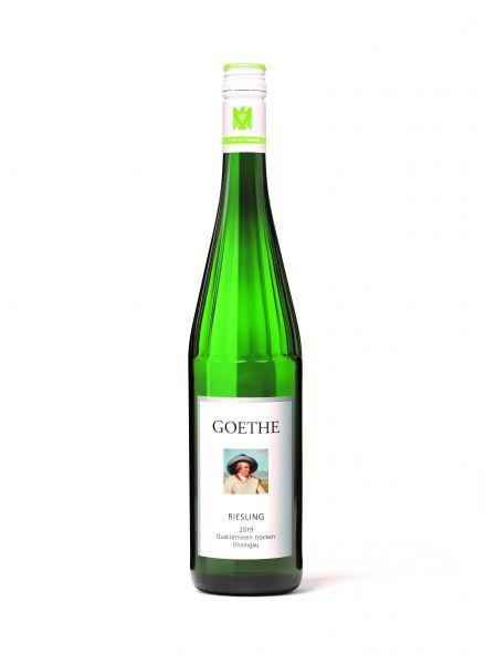 Schloß Vollrads Rheingau, 2019, Goethe Riesling Qualitätswein trocken, 12 % Vol.