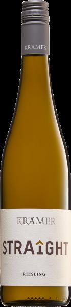 Krämer Straîght Riesling, 2019, Qualitätswein trocken, 12,5 % Vol.