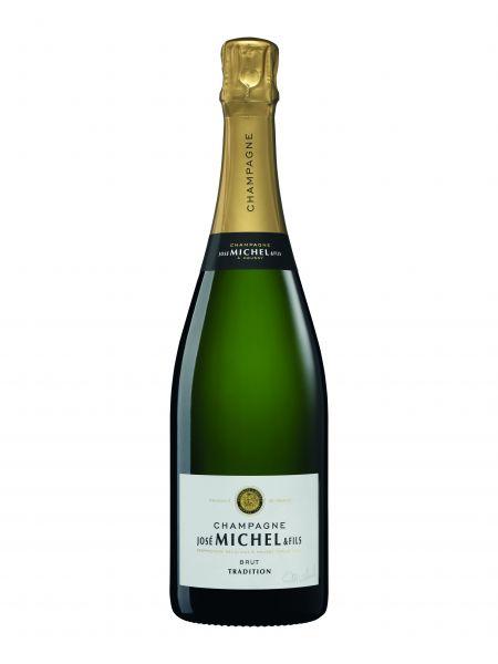 Champagner José Michel Tradition Brut, 12 % Vol., 0,750 l, Frankreich