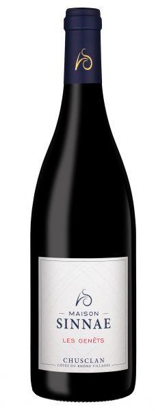 2017 Chusclan Les Genets AOC, Côtes du Rhône Villages, Vignerons de Laudun, 14 % Vol., Frankreich