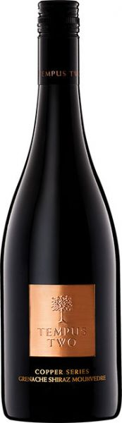 2014, Tempus Two Copper Series Grenache-Shiraz-Mourvédre, 14 %vol.