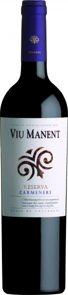 2018, Viu Manent Carmenère Gran Reserva, 13,5 % Vol.