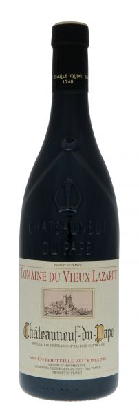 2014, Domaine du Vieux Lazaret, AOC Châteauneuf-du-Pape, 14 % Vol., Rhône, Frankreich