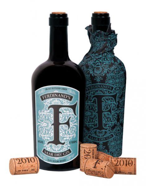 FERDINAND'S Saar Dry Gin, Riesling Infused, 44 % Vol.