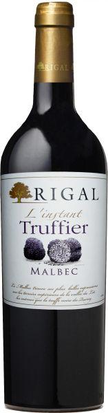 2019, Malbec L'instant Truffier, IGP Côtes Du Lot, 13,5 % Vol., Rotwein, Frankreich