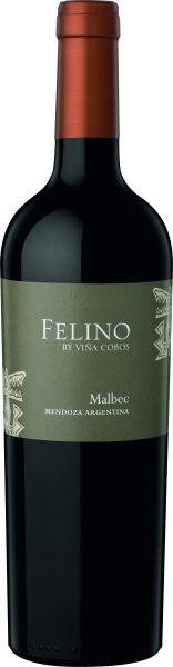 """2018, Viña Cobos """"Felino"""" Malbec Mendoza, 14,0 % Vol., Rotwein, Argentinien"""