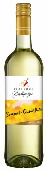 """Oberbergener Baßgeige 2019er """"Sommerouvertüre"""" Müller-Thurgau, 12 % Vol."""