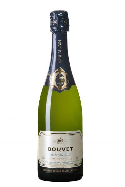 Bouvet Crémant de Loire Brut Vintage, AOC, 12,5 % Alc., Méthode Traditionnelle