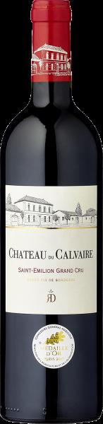 2015, Château du Calvaire Grand Cru Saint Émilion AOC, 13,5 % Vol., Bordeaux, Frankreich