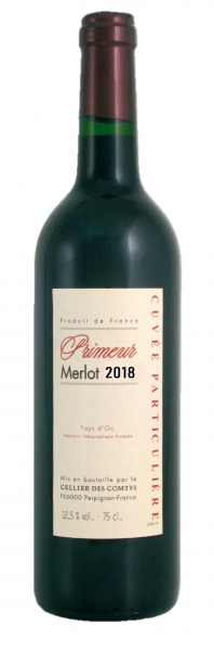 2018, Primeur Merlot
