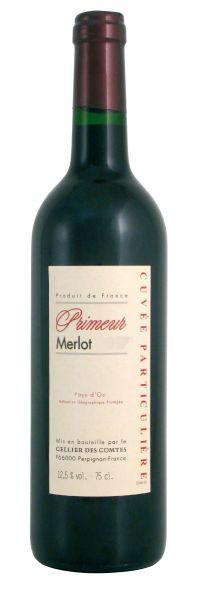 2020, Primeur Merlot, Pays d'Oc, 13,5% Vol.