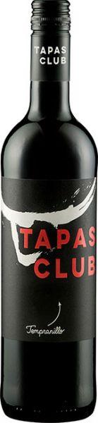 Tapas Club Tempranillo DOP 2018, 13,5 %vol., Rotwein, Spanien