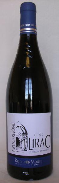 2017 AOP Lirac Rot, Crus des Côtes du Rhone, Rocca Maura,14 % Vol., Rhône, Frankreich