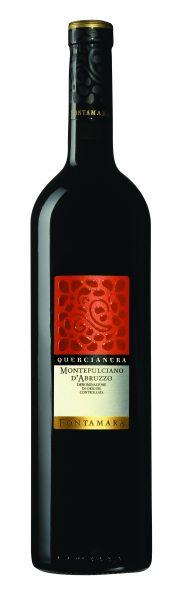 2019, Montepulciano d'Abruzzo DOC Quercianera, 13 % Vol., Rotwein, Italien
