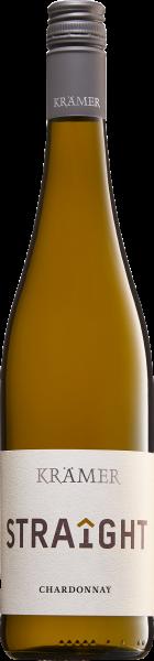 Krämer Straight Chardonnay, 2019, Qualitätswein trocken, 12,5 % Vol.
