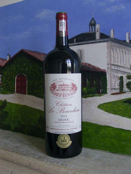 2016, Château Le Bourdieu, AOC Médoc, 13,0 % Vol., Magnum, 1,5 Liter, Bordeaux