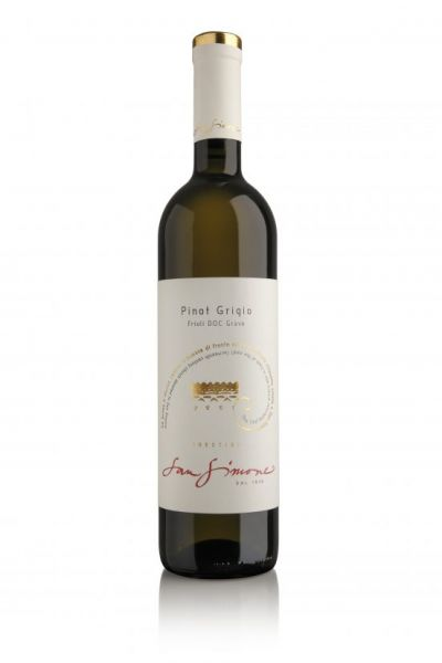 "2019, Pinot Grigio DOC Friaul, ""San Simone"", 12,5% Alk.Vol."