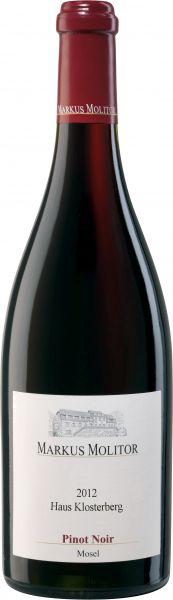 2015, Markus Molitor, Pinot Noir, QbA, trocken, 13 % Vol., Rot