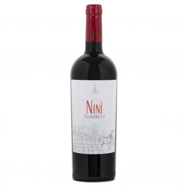 2019, NINI Susumaniello Salento, Ionis, 14% Alc., Apulien, Italien
