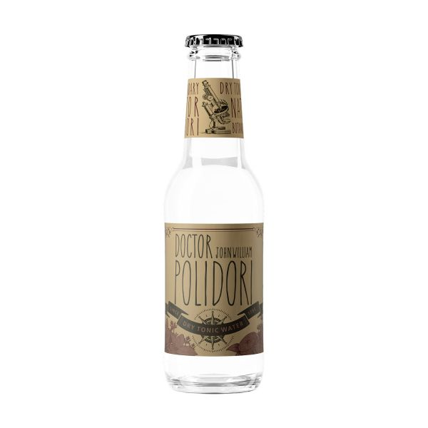 DR. POLIDORI Dry Tonic (Botanical infused), 4er Box á 200 ml