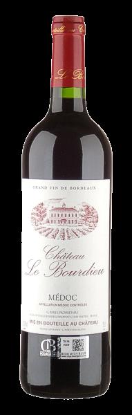 2012, Château Le Bourdieu, AOC Médoc, 13,5 % Vol., Bordeaux, Frankreich