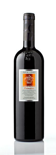 "2013, Primitivo Salento Rosso, IGP, Apollonio ""Terragnolo"", 15 % Alc., Apulien, Italien"